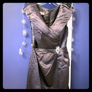 New formal dress for special occasion.  Steel grey